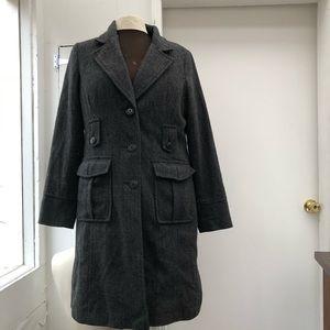 Merona long twill coat